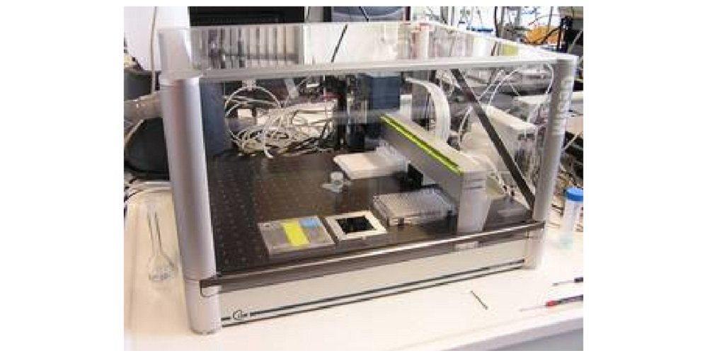"<div style=""text-align: justify;"">The Nanoplotter is a drop-on-demand printer, which can dispense small volumes of various suspensions. In our group it is used for the preparation of HSA catalysts for performance tests in the SFC.</div>"