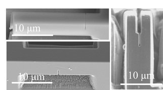 Reliability of fracture toughness test geometries at the micron-scale