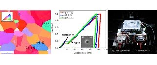 Hydrogen-microstructure interactions in Ferritic alloys at small scale
