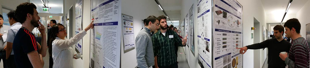 Indepth discussion during the poster session.