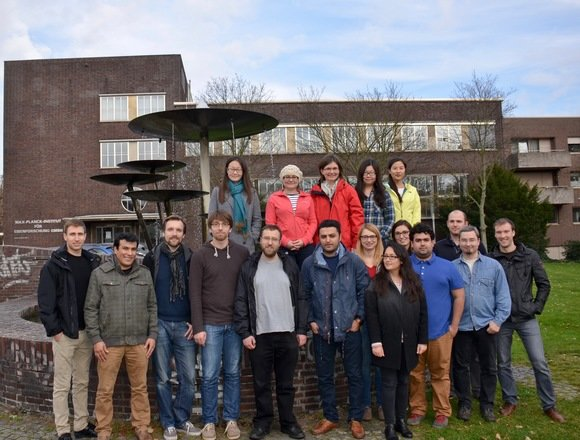 Group photo of the Interface Spectroscopy Group, november 2015