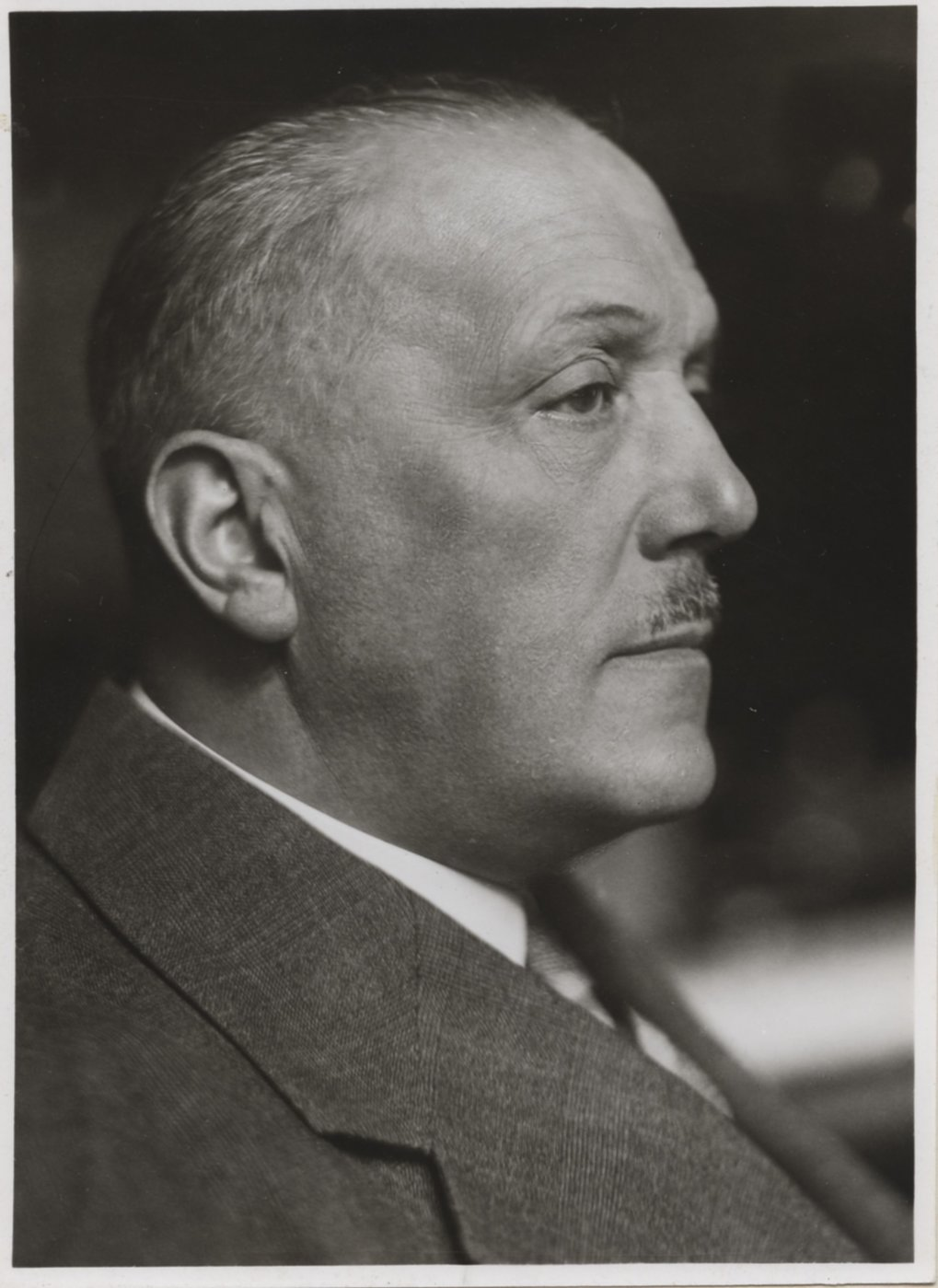 Otto Petersen who served as managing director of the Verein Deutscher Eisenhüttenleute from 1917 onwards was a particularly active supporter of the creation of a common steel research institute.