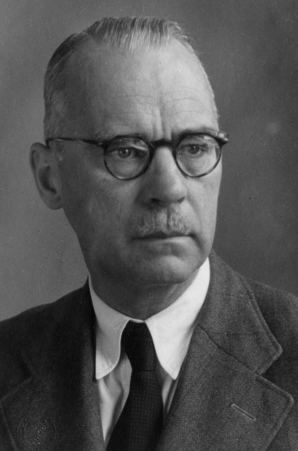 Friedrich Körber, director of the institute since 1923.