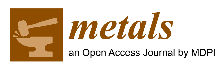 Metals (ISSN 2075-4701; CODEN: MBSEC7) is an international, open access metallurgy journal published monthly online by MDPI. It has been indexed by Science Citation Index Expanded (SCIE) and Scopus (Elsevier). The Impact Factor of /Metals/ is 1.984. /Metals/ now ranks 13/74 (Q1) in the category'Metallurgy & Metallurgical Engineering' and 127/275 (Q2) in the category 'Materials, Multidisciplinary'. More information could be found at: http://www.mdpi.com/journal/metals.
