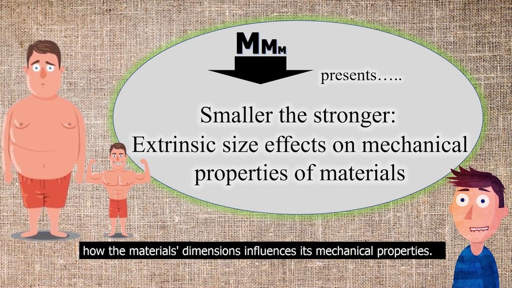 <p>How does the material's dimension impact its mechanical properties? Watch this video to understand the basic steps of nanomechanics.</p> <p> </p>